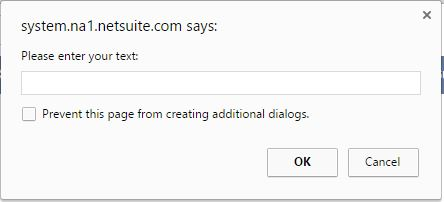 SuiteScript 2 0 Dialog Prompt + On SaveRecord : Netsuite